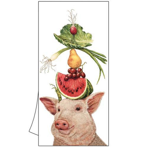 Kitchen/Bar Towel - Pig