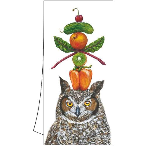 Kitchen/Bar Towel - Owl