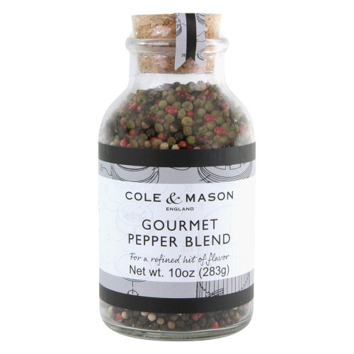 Gourmet Whole Pepper Blend - 10 oz Jar