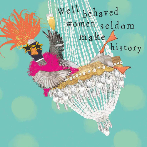 Funny Napkins - Well Behaved Women