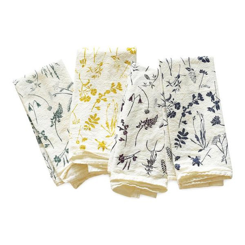 Wildflowers Flour Sack Napkin Set