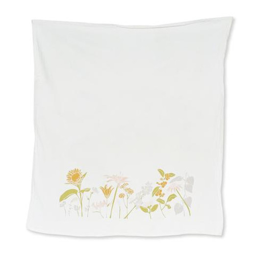 Strength Flowers Kitchen Towel