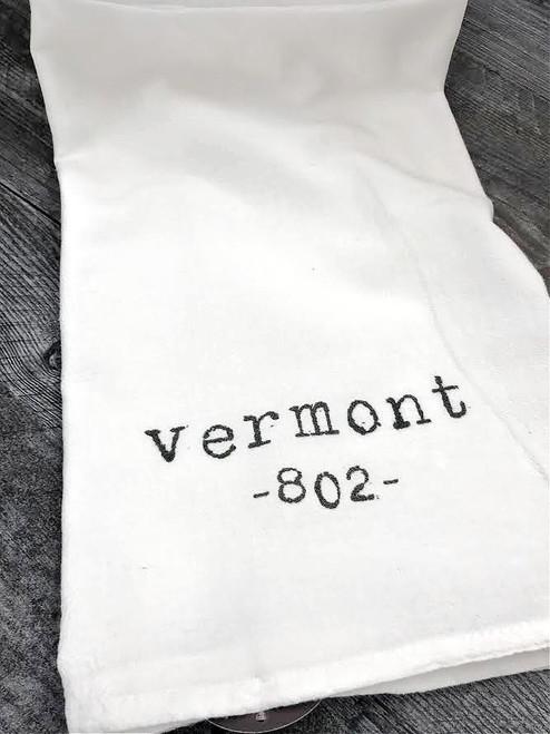 Tea Towel - Vermont 802