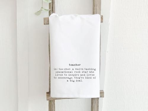 Tea Towel - Teacher Definition