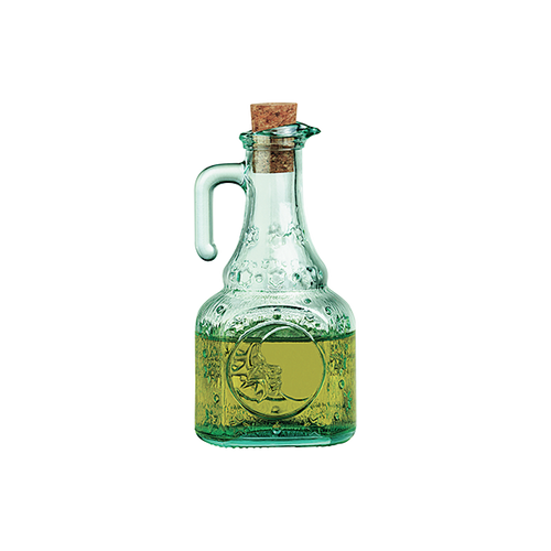 Helios Glass Bottle with Cork Lid