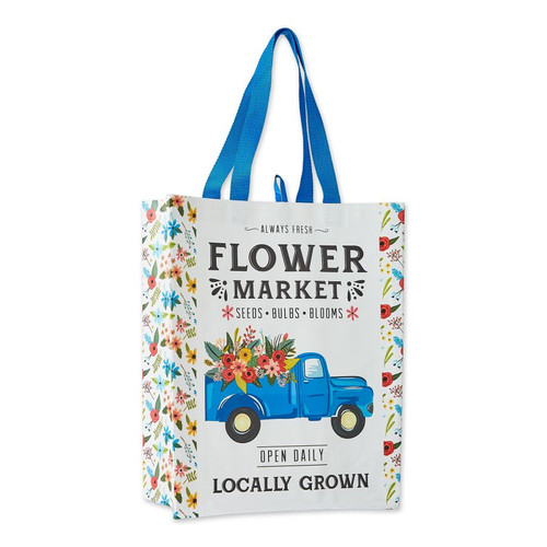 Reusable Tote Bag - Flower Market