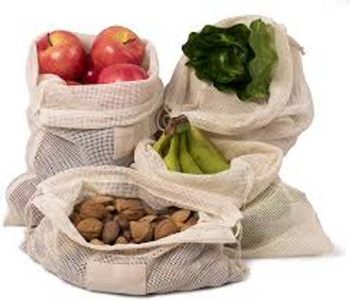 Organic Cotton Produce Bags