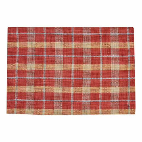 Plaid Woven Placemats