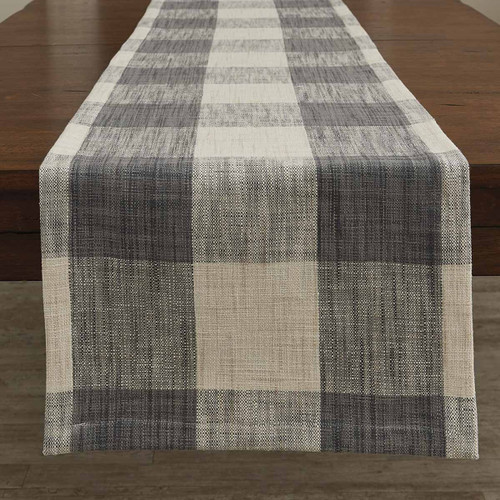Plaid Woven Table Runner