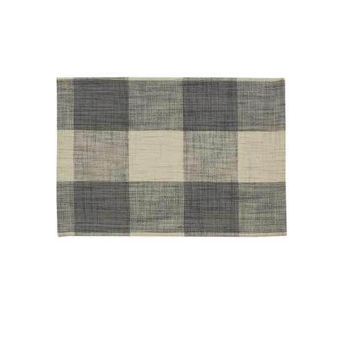 Gray Plaid Placemats