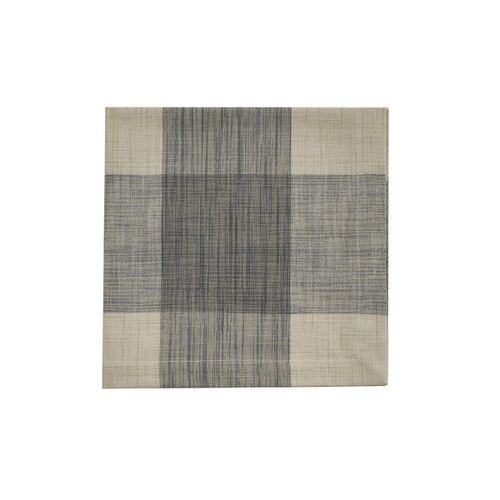 Gray Plaid Napkins
