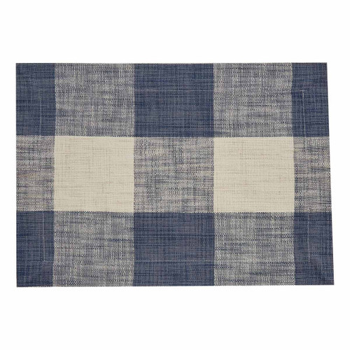 Blue Plaid Placemats