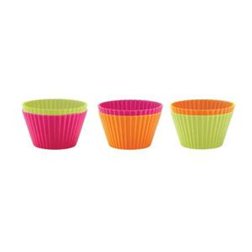 Silicone Cupcake Cups - Set of 6
