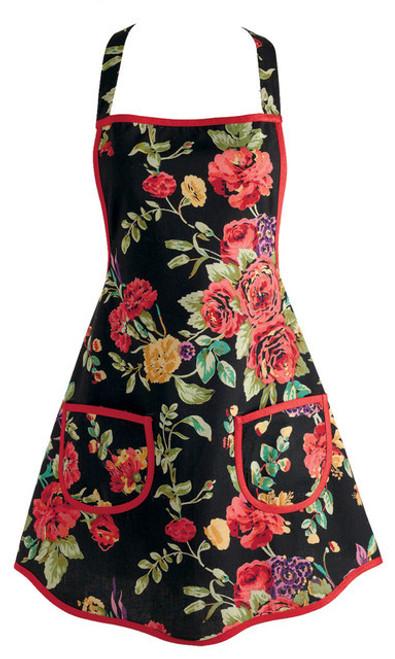 Vintage Wild Rose Apron