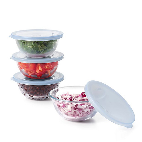 Good Grips Glass Prep Bowls with Lids
