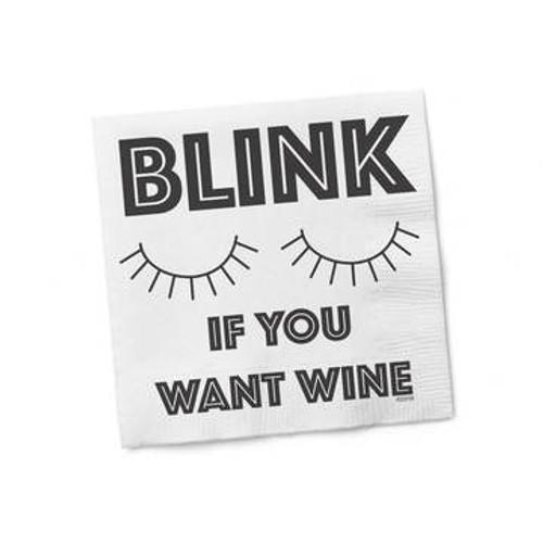 Funny Napkins - Blink