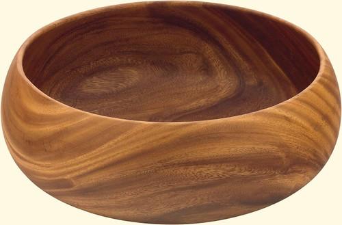 """Acacia Wood 10"""" Bowl"""