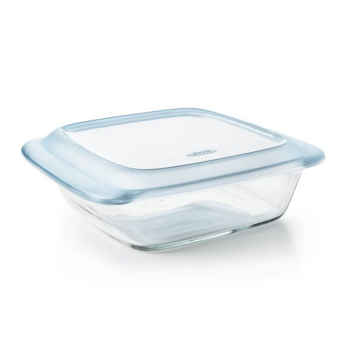 Good Grips Glass Baking Dish with Lid 2 Quart