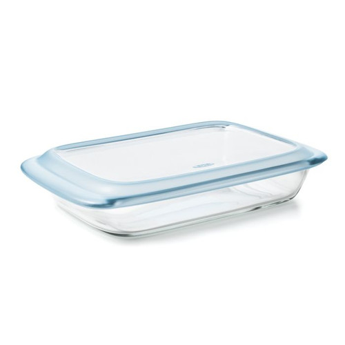 Good Grips Glass Baking Dish with Lid 3 Quart