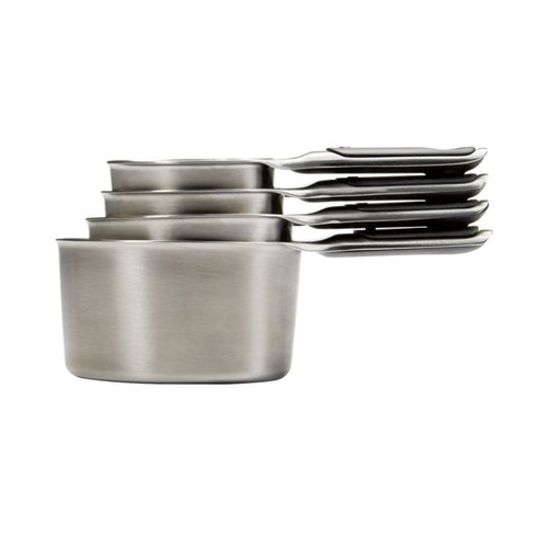 Good Grips 4 Piece Stainless Steel Measuring Cups Set