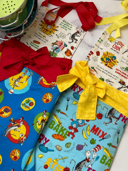 Dr. Seuss Kid's Apron