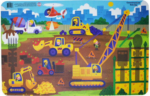Construction Kids Placemat