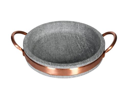 Soapstone Brie Pan