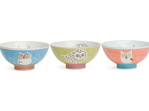 Owl Rice Bowls