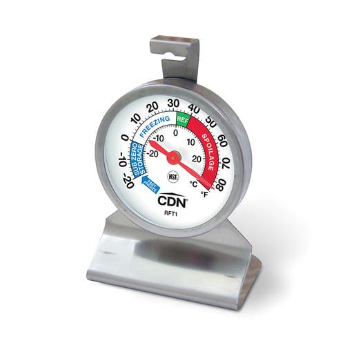 Round Refrigerator/Freezer Thermometer