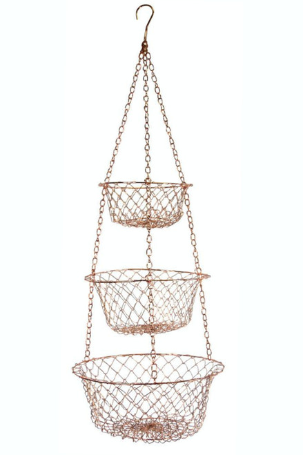 3-Tiered Hanging  Baskets