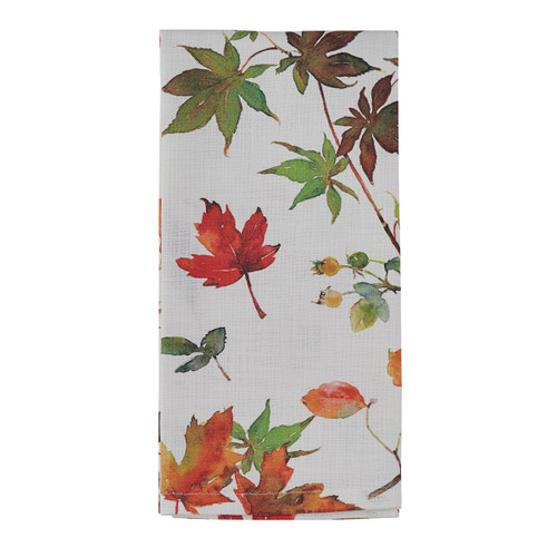 Falling Leaves Dish Towel