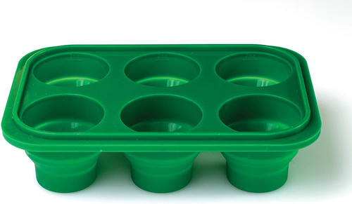 Prep-N-Freeze Mini Portion Tray W/Lid