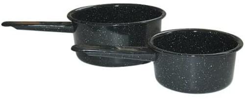 Graniteware Enameled Saucepans