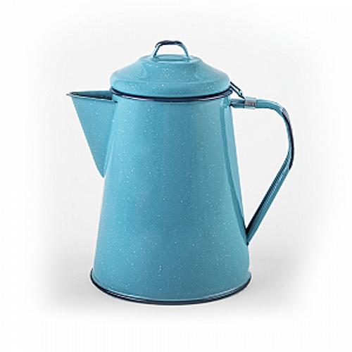 Hispanic Enameled Coffee Pot