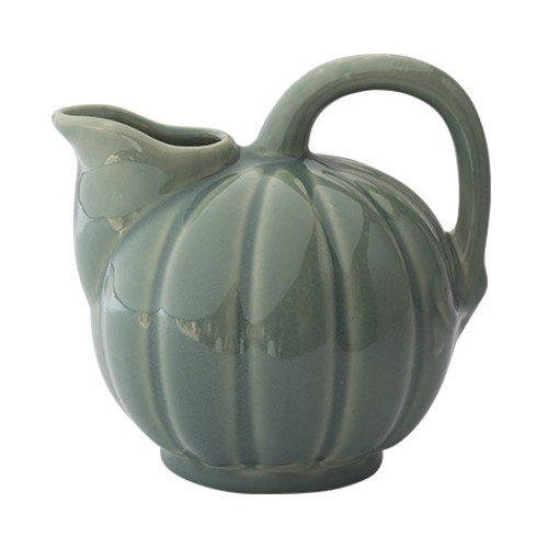 Handcrafted Green Melon Pitcher