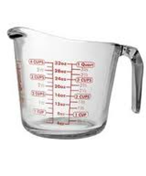Anchor Hocking Measuring Cup | 4 Cup
