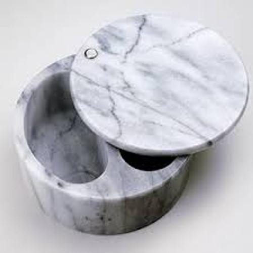 Swivel Top Marble Salt Box