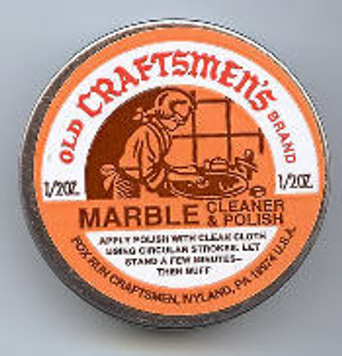 Old Craftsmen's Brand Marble Cleaner & Polish