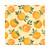"""Le Cadeaux Fleur D'Orange Tablecloth 69""""x 98"""""""