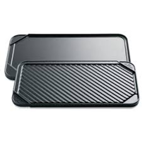 Double Burner Reversible Griddle and Grill