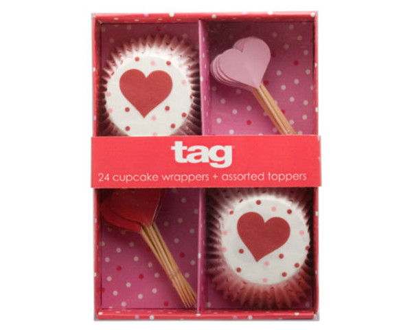 Valentine Cupcake Decorating Kit