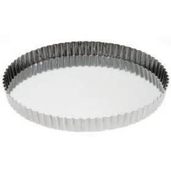 Removable Bottom Quiche/Tart Pan - 12 1/2""