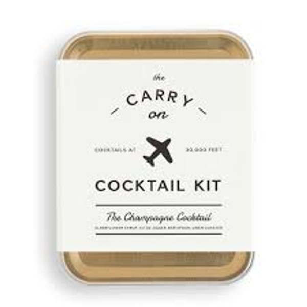 Champagne Cocktail Carry On Kit