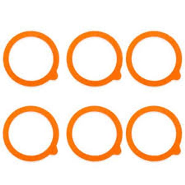 Kilner Standard Replacement Seals - Set of 6