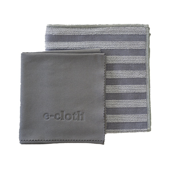 E-Cloth Stainless Steel Cleaning Cloths Set of 2