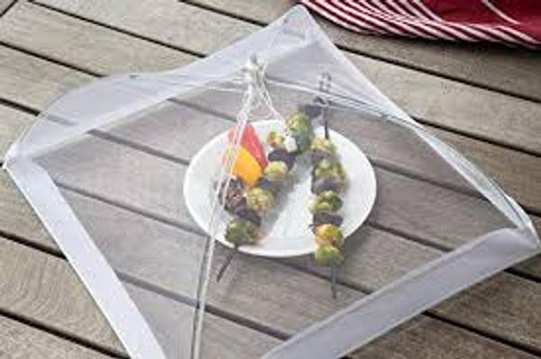 """Food Umbrella - 18"""" Square"""