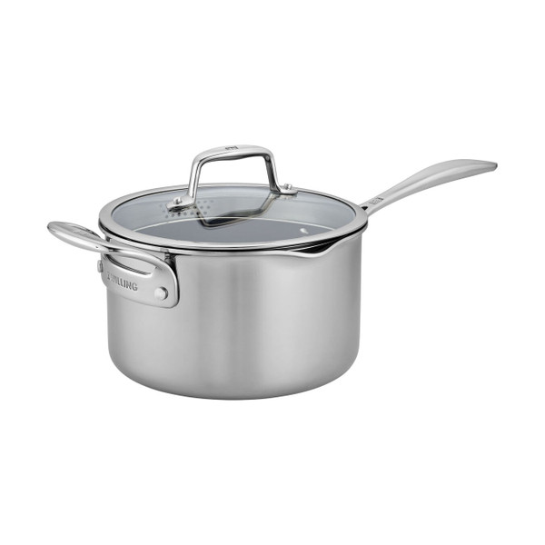Zwilling Clad CFX Non-Stick 4 Qt. Saucepan with Lid