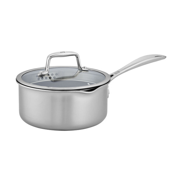 Zwilling Clad CFX Non-Stick 2 Qt. Saucepan with Lid