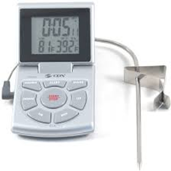 Combo Probe Thermometer, Timer & Clock
