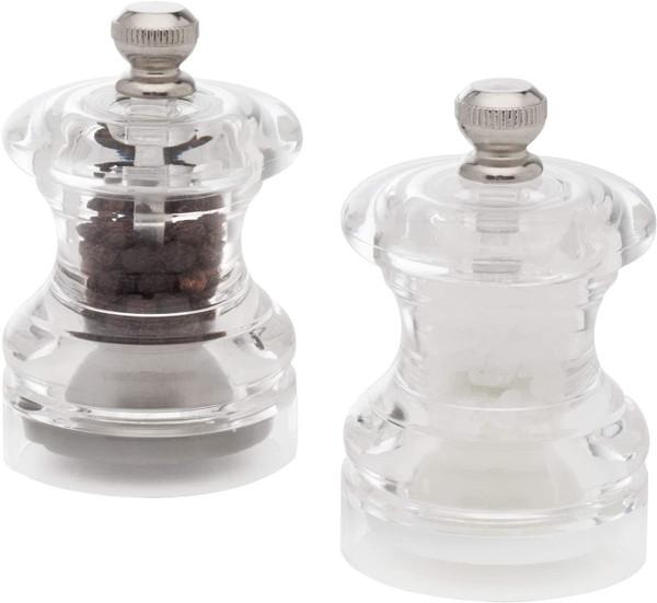 Cole & Mason Button Mini Salt & Pepper Mill Gift Set
